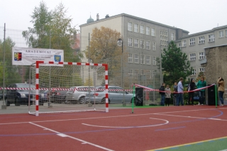 Otwarcie boiska szkolnego - 24 października 2012
