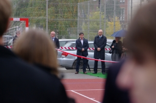 Otwarcie boiska szkolnego