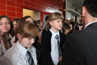 Pasowanie na uczniów klas pierwszych