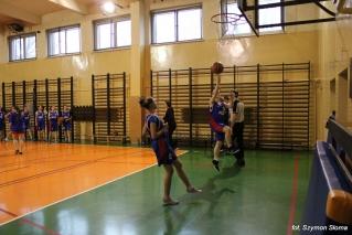 Zawody z koszykówki juniorek - 19 listopada 2014