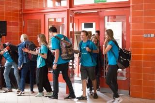 Powitanie uczestników XVI Szkolnej Wyprawy Geograficznej do Azji