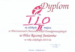 Słowak wicemistrzem Chorzowa w piłce ręcznej - 05 listopada 2015