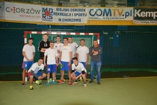 Słowak wicemistrzem Chorzowa w piłce ręcznej