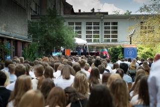 Zakończenie roku szkolnego - gimnazjum - 22 czerwca 2017