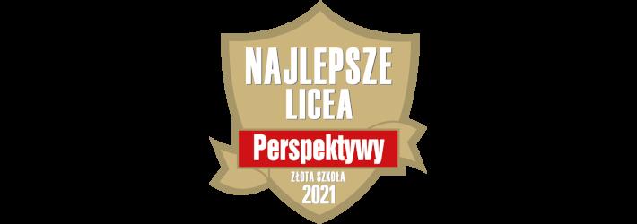 Perspektywy ranking liceów 2020 - złota tarcza